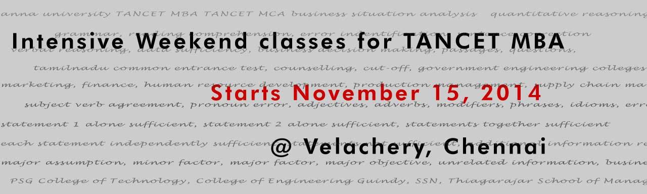 TANCET classes